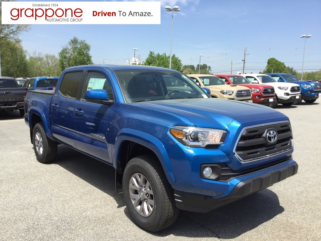 new 2017 toyota tacoma sr5 4d double cab 4d double cab in bow di state tse1265 grappone. Black Bedroom Furniture Sets. Home Design Ideas