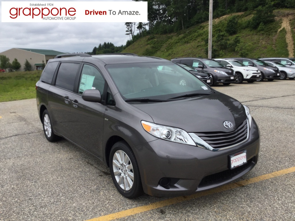 new 2017 toyota sienna le 4d passenger van in bow di state te1473 grappone toyota. Black Bedroom Furniture Sets. Home Design Ideas